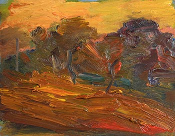 David Atkins, Orchard, Autumn (1995) at Morgan O'Driscoll Art Auctions