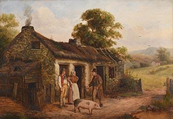 Septamus Dawson, Selling the Pig at Morgan O'Driscoll Art Auctions