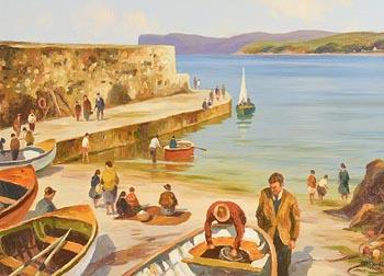 Donal McNaughton, Summer's Day at Morgan O'Driscoll Art Auctions
