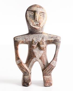 Inuit, Figure at Morgan O'Driscoll Art Auctions