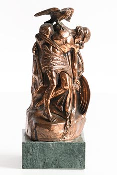 after Oliver Sheppard, C�chulainn at Morgan O'Driscoll Art Auctions