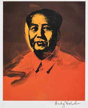 Andy Warhol, Mao Tse Tung 1982 at Morgan O'Driscoll Art Auctions