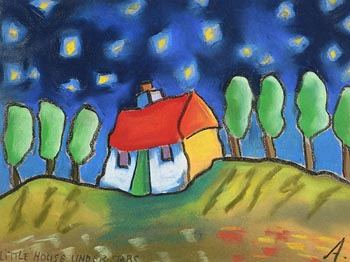 Annie Robinson, Little House Under the Stars at Morgan O'Driscoll Art Auctions