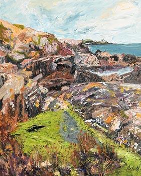 Dorothee Roberts, Paddling Memories, Church Bay, Crosshaven at Morgan O'Driscoll Art Auctions