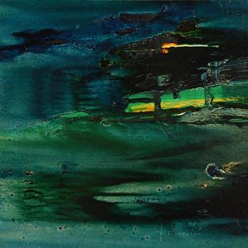 Padraig MacMiadhachain, Under Seascape I at Morgan O'Driscoll Art Auctions