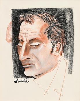 Graham Knuttel, Dude at Morgan O'Driscoll Art Auctions