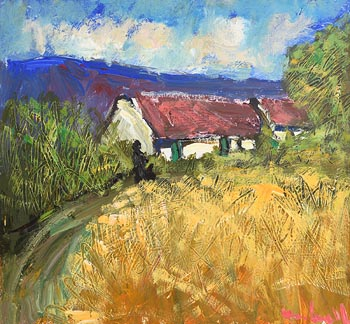 Marie Carroll, Spring Cottage at Morgan O'Driscoll Art Auctions