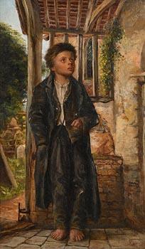 A Holyoak, The Poor Parishioner (1878) at Morgan O'Driscoll Art Auctions