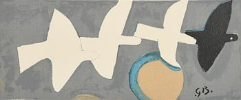 Georges Braque, Four Birds at Morgan O'Driscoll Art Auctions