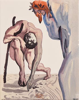 Salvador Dali, Prince of the Valley (1960) at Morgan O'Driscoll Art Auctions