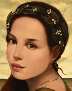 Ken Hamilton, Laura at Morgan O'Driscoll Art Auctions