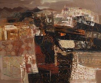 George Campbell, Nearing Tetuan, Madrid, Spain at Morgan O'Driscoll Art Auctions