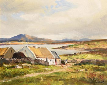 Maurice Canning Wilks, In the Rosses Country, Co. Donegal at Morgan O'Driscoll Art Auctions