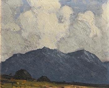 Paul Henry, Peat Stacks, Connemara at Morgan O'Driscoll Art Auctions