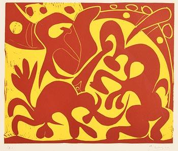 Pablo Picasso, Pique (1962) at Morgan O'Driscoll Art Auctions