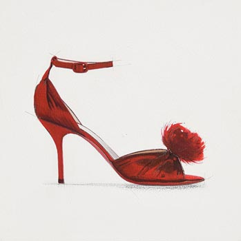 Martin Cooke, Christian Louboutin at Morgan O'Driscoll Art Auctions