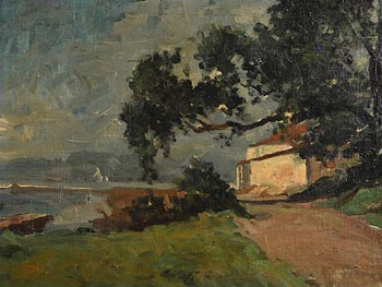William Duthie, The House by the Sea (c.1890) at Morgan O'Driscoll Art Auctions