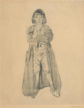 Sir William Orpen, Kit at Morgan O'Driscoll Art Auctions