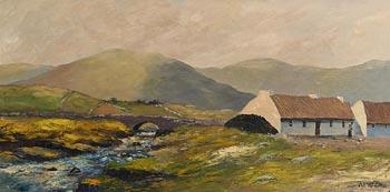 Val McGann, Connemara Homestead at Morgan O'Driscoll Art Auctions