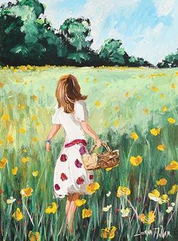 Lorna Millar, Picking Wildflowers at Morgan O'Driscoll Art Auctions