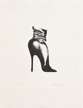 Allen Jones, Shoe (1968) at Morgan O'Driscoll Art Auctions