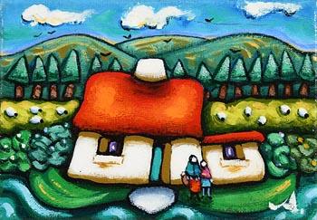 Annie Robinson, Summer in the Hills at Morgan O'Driscoll Art Auctions