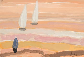 Markey Robinson, White Sails at Morgan O'Driscoll Art Auctions