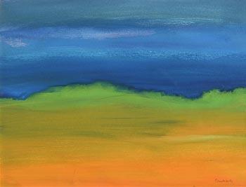 Robert Walls, Evening Sky at Morgan O'Driscoll Art Auctions