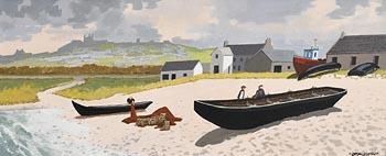 John Francis Skelton, O'Brien's Castle, Inisheer at Morgan O'Driscoll Art Auctions
