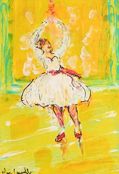 Marie Carroll, The Ballerina at Morgan O'Driscoll Art Auctions