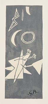Georges Braque, Gray Sky II at Morgan O'Driscoll Art Auctions