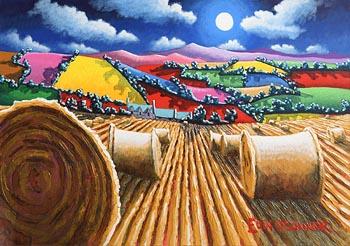 Eoin O'Connor, Harvest Moon at Morgan O'Driscoll Art Auctions