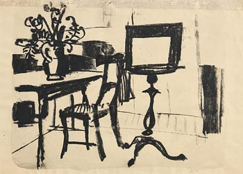Colin Middleton, The Drawing Room at Morgan O'Driscoll Art Auctions