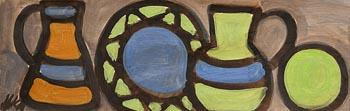 Markey Robinson, Still Life with Mosaic Bowl at Morgan O'Driscoll Art Auctions