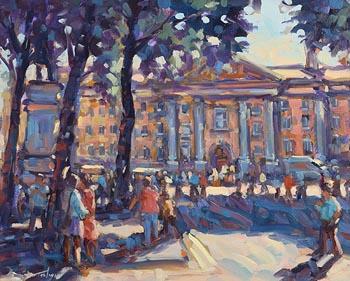 Norman Teeling, Trinity College, Dublin at Morgan O'Driscoll Art Auctions