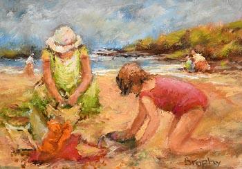 Elizabeth Brophy, Building Sandcastles at Morgan O'Driscoll Art Auctions