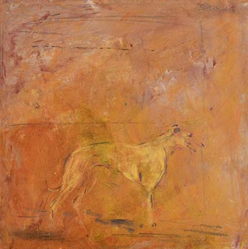 Basil Blackshaw, Greyhound at Morgan O'Driscoll Art Auctions