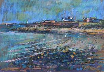 Philip Brown, Howth Harbour, August (2005) at Morgan O'Driscoll Art Auctions