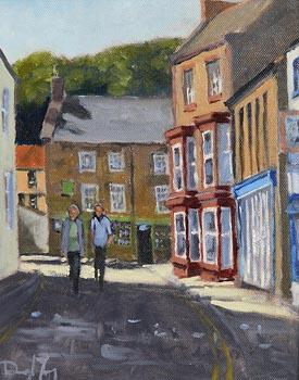 Darragh Treacy, Strolling Through Kinsale at Morgan O'Driscoll Art Auctions