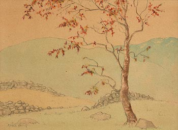 Mabel Young, The Cherry Tree at Morgan O'Driscoll Art Auctions