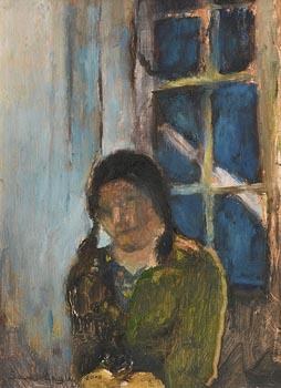 Sarah Longley, Self Portrait at Night (2000) at Morgan O'Driscoll Art Auctions