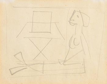 Norah McGuinness, Doodles from the Sketch Book of Norah McGuinness at Morgan O'Driscoll Art Auctions