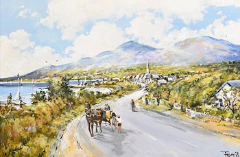 Frank Fitzsimmons, Travelling Home at Morgan O'Driscoll Art Auctions