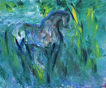 Declan O'Connor, Young Stallion at Morgan O'Driscoll Art Auctions