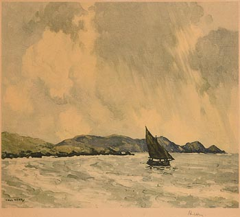 Paul Henry, Sailing in Achill Sound at Morgan O'Driscoll Art Auctions