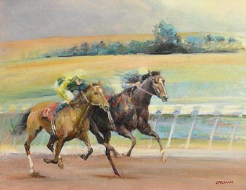 Tom Spelman, All Weather Duel at Morgan O'Driscoll Art Auctions
