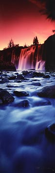 Peter Lik, Waterfall at Morgan O'Driscoll Art Auctions
