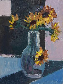 Brian Ballard, Sunflowers (2013) at Morgan O'Driscoll Art Auctions