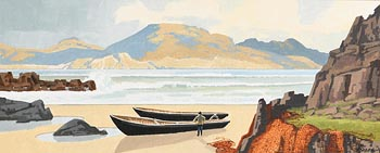 John Francis Skelton, A Northern Tip from Fanad, Donegal at Morgan O'Driscoll Art Auctions