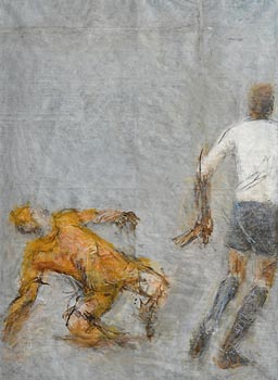 Joseph O'Connor, The Game at Morgan O'Driscoll Art Auctions